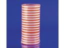 IMS Labels 16/17M Plain Fluorescent Red Labels, 827047