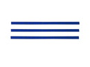 "Bedford Industries 4"" Blue Bag Ties 2000ct, 832206"