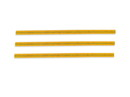 "Bedford Industries 4"" Yellow Bag Ties 2000ct, 832210"