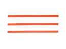 "Bedford Industries 4"" Orange Bag Ties 2000ct, 832215"