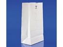Duro Bag 4lb White Paper Bags 5x3.25x9.5 500ct, 835050
