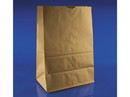 Duro Bag 1/6 Brown Paper Bags 57lb, 12x7x17 500ct, 836200