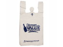 "Omega ""Discover The Value Of Bulk Foods"" T-Shirt Sacks 12""x7""x22.5"" 1000ct, 836205"