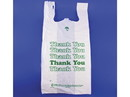 "Omega Large, Strong ""Thank You"" T-shirt Sacks, 13""x8""x25 1000ct, 836213"