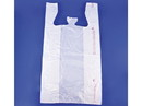 Elkay Plastics Plain White T-Shirt Sacks 12x7x22 1000ct, 836214