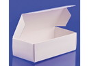 Simplex Paper Box 1/2 lb Candy Box 1-PC White 250ct, 838004