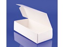 Simplex Paper Box 1 lb Candy Box 1-PC White 250ct, 838006