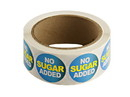"Labels Blue ""No Sugar Added"" Label s 500ct, 852314"