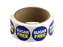 "Labels Dk Blue ""Sugar Free"" Labels 500ct, 852315"