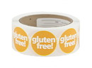 "Labels Gold ""gluten free!"" Labels 500ct, 852333"