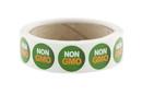 "Labels Green ""NON GMO"" Labels 500ct, 852337"