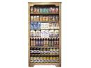 """Homestead Heirlooms Wooden Shelf Display 3'x6'x13"""" 1ea, 896100"""