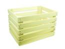 """Natural Poplar Bushel Crate, 18""""x14""""x12"""" 1ea, 896203"""
