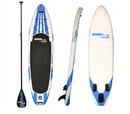 Dunn Rite SUP2 White with Blue Inflatable SUP