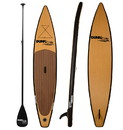 Dunn Rite SUP4 Natural Wood Stand Up Inflatable Paddle Board