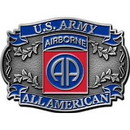 Eagle Emblems B0104 Buckle-Army, 082Nd A/B (3-1/8