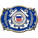 Eagle Emblems B0124 Buckle-Uscg Logo (3-1/8