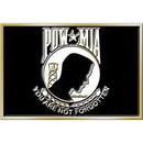 Eagle Emblems B0133 Buckle-Pow*Mia (3-1/8
