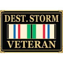 Eagle Emblems B0135 Buckle-Op.Desert Storm (3-1/2