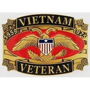 Eagle Emblems B0142 Buckle-Viet, Vet.1959-1975 (3-1/4