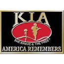 Eagle Emblems B0145 Buckle-Kia Honor (3-1/8