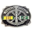 Eagle Emblems B0147 Buckle-Viet, Vet.Ka-Bar (3-1/4