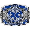 Eagle Emblems B0163 Buckle-Emt First Response (3-1/8