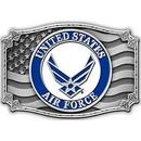 Eagle Emblems B0170 Buckle-Usaf Symbol Iii (3-1/4