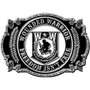 Eagle Emblems B0173 Buckle-Wounded Warrior, Ii (3-1/8