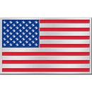 Eagle Emblems B0177 Buckle-Usa Flag (3-1/4