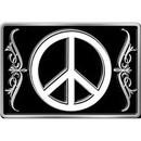Eagle Emblems B0183 Buckle-Peace Sign (3-1/8