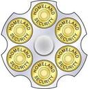 Eagle Emblems B0202 Buckle-Homeland Security (2-3/4