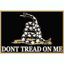 Eagle Emblems B0206 Buckle-Dont Tread On Me (Black) (3-1/2