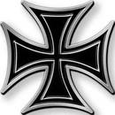 Eagle Emblems B0252 Buckle-Iron Cross (2-3/4