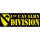 Eagle Emblems BM0016 Sticker-Army, 001St Cav. (3-1/2