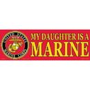 Eagle Emblems BM0039 Sticker-Usmc, My Daughter (3-1/2