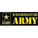 Eagle Emblems BM0043 Sticker-Army My Daughter (3-1/2