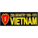 Eagle Emblems BM0049 Sticker-Viet, 25Th (66-70) (3-1/2