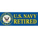 Eagle Emblems BM0056 Sticker-Usn Logo, Retired