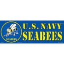Eagle Emblems BM0072 Sticker-Usn, Seabees (3-1/2