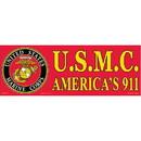 Eagle Emblems BM0075 Sticker-Usmc, Americas 911 (3-1/2