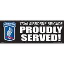 Eagle Emblems BM0119 Sticker-Army, 173Rd A/B (3