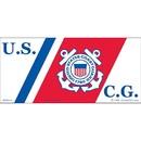 Eagle Emblems BM0142 Sticker-Uscg Logo, Proudly Served (3
