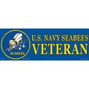 Eagle Emblems BM0143 Sticker-Usn, Seabees (3