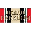 Eagle Emblems BM0179 Sticker-Iraq War, Svc.Ribb Iraqi Freedom (3