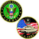Eagle Emblems CH1001 Challenge Coin-Army Symbl (1-5/8