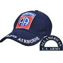 Eagle Emblems CP00122 Cap-Army, 082Nd A/B (Brass Buckle)