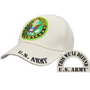 Eagle Emblems CP00124 Cap-Army Symbol, Khaki (Brass Buckle)