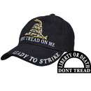 Eagle Emblems CP00126 Cap-Dont Tread On Me, Blk (Brass Buckle)