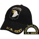 Eagle Emblems CP00129 Cap-Army, 101St A/B (Brass Buckle)